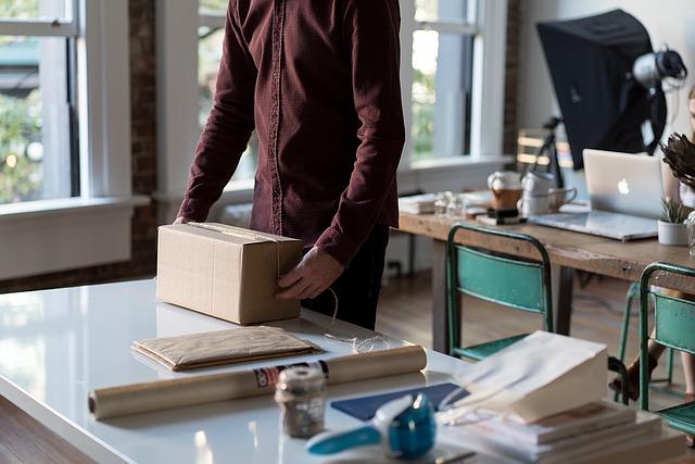 balení zásilky