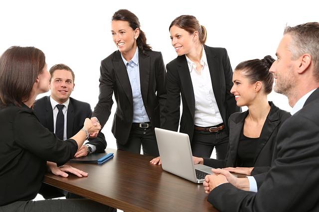 obchodní setkání